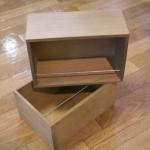 キッチンラックの収納力をアップ!ダイソーで良さ気なボックスをゲット