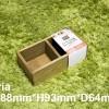 100円ショップ木製アンティークインテリアのサイズ比較。セリア、ダイソー、キャンドゥからピックアップ