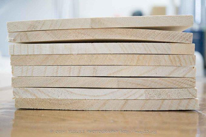 木材のソリ、ネジレ